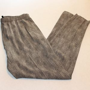 Eileen Fisher Snake Print Pants
